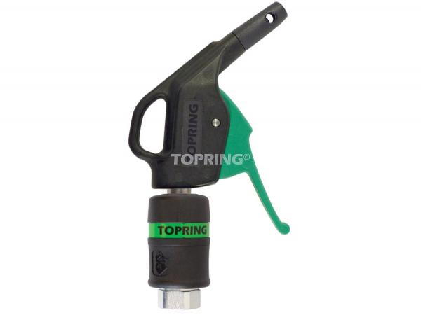 Topquik blow gun ultraflo w/safety tip polyamide & coupler 31.769