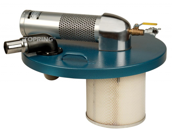 Powervac high power wet/dry vacuum system