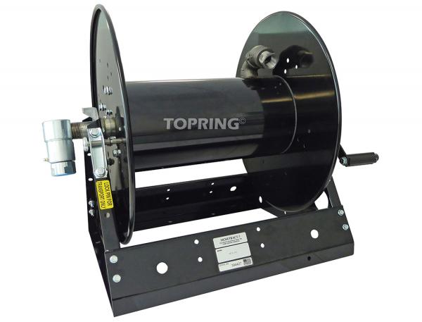 Hose reel steelpro manual 3/4 x 100' or 1x75' capacity