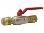 Brass ball valve 22 mm airline