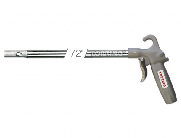 Topgun blow gun with 182 cm extension