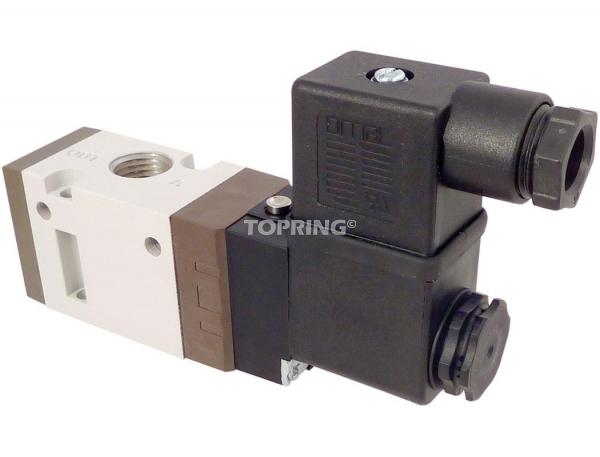 Maxima valves électriques à simple solénoïde - 3 voies / 2 positions