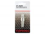 Plug (3/8 industrial) hose barb 3/8