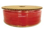Tubing polyurethane 6 mm x 100m red