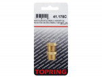 Reducing bushing 3/8 (m) x 1/4 (f) npt 2pcs/c