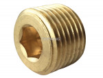 Pipe plug countersunk head 1/8 (m) npt
