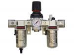 Airflo 300 filter + regulator + lubricator (gauge included) 1/4 auto