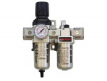 Airflo 300 filter/regulator+lubricator 1/4 auto
