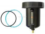 Bowl zinc+sightglass filter, filter coalescing, lubricator 1/2 manual hiflo
