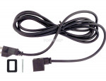 Electric power cord 110vac 6'