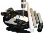 Vacuum system for dry or wet debris drumvac