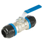 Ball valve 16 mm pps