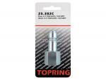 Plug (1/2 truflate) 1/2 (f) npt (manual)