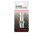 Plug (1/2 truflate) 1/2 (m) npt