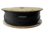 Tubing nylon 1/4 x 330' black