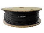 Tubing nylon.pu longlife 5/32(4 mm) x 330'(100m) black