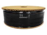 Tubing polyurethane 6 mm x 100m black