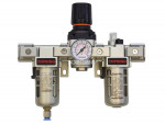 Airflo 300 filter + regulator + lubricator 1/4 semi-auto