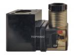 Coil & connector 110vac 3/8-1/2-3/4-1 (f) npt airflo