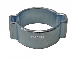 Two Ear Hose Clamp 15 - 18 mm