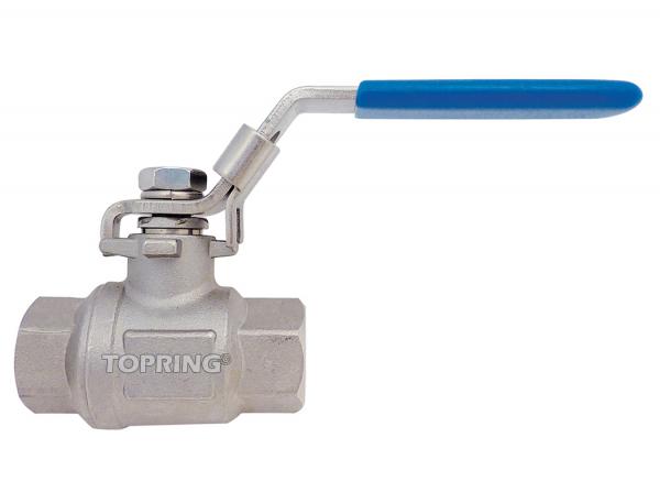 Ball valve stainless steel full flow 1/4 – 2 npt lockout 1-1/2 (f-f) npt