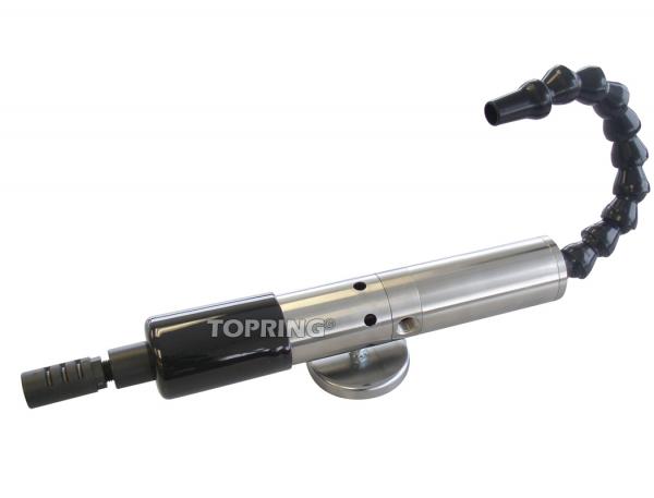 Adjustable cold air gun