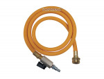 Water blowout adapter kit with male connector gauge and 5' ecoflex hose