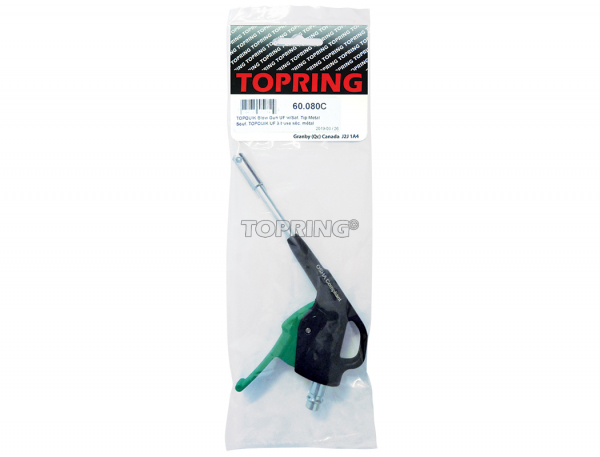 Topquik blow gun ultraflo w/safety tip metal