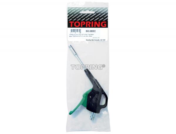 Topquik blow gun ultraflo w/safety tip metal