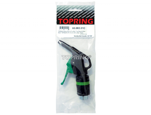 Topquik blow gun ultraflo w/safety tip poly. & coupler 31.749
