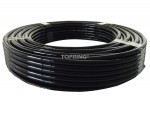 Tubing nylon 6mm x 30m black
