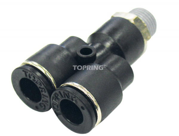 Male ''y'' connector 4 mm x 1/4 (m) bspt maxfit