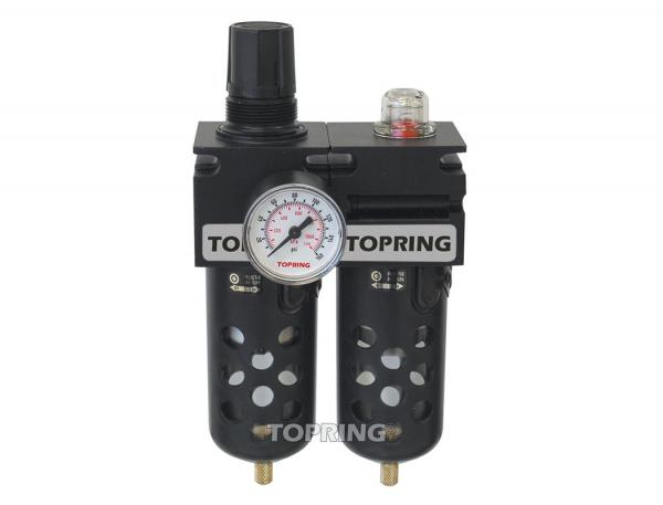 Filter/regulator+filter coalescing 1/2 medium auto polyurethane