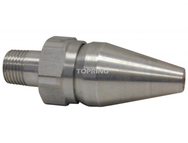 Air saver nozzle (stainless steel)