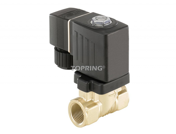 Solenoid ball valve 240vac 2/2 1/4 (f) npt hiflo