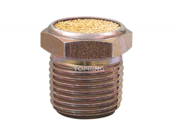 Compact breather vent filter 1/4 (m) npt