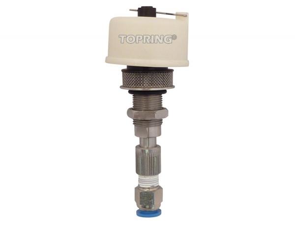 Auto drain for water separator airflo