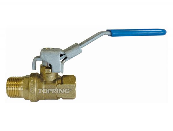 Brass ball valve full flow 1 (m-f) npt crn