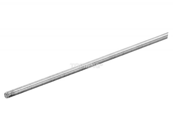 Threaded rod 3/8 unc x 10' zinc plated quickline