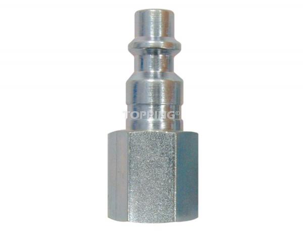 Plug (1/4 industrial) 3/8 (f) npt 2pcs/c