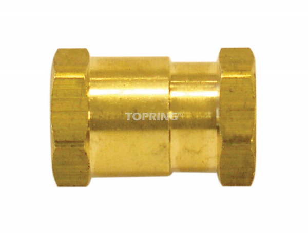 Reducing coupler 1/2 (f) x 3/8 (f) npt