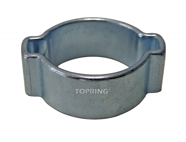 Hose clamp two-ear 15-18 mm