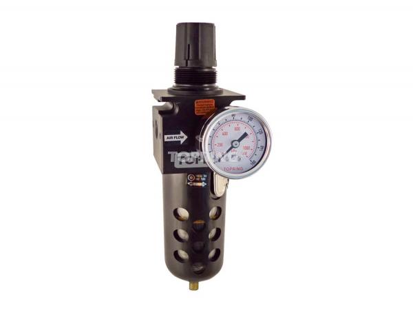 Filter/regulator 1/2 medium manual polyurethane