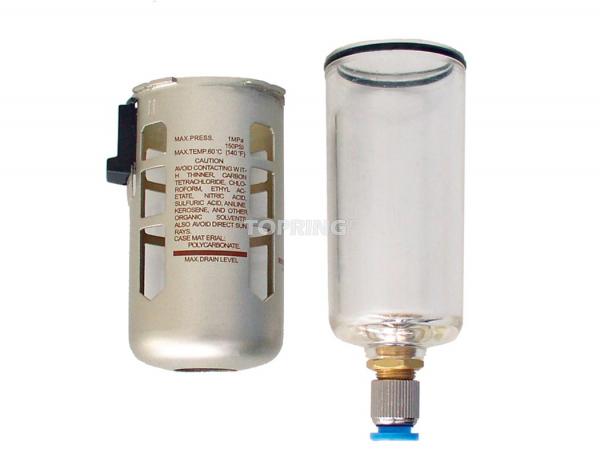 Bol poly. +prot +purgeur pour filtre, filtre/régulateur airflo 300