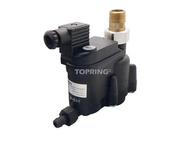 Zero air loss automatic drain 128 scfm 1/2 (m) npt topdrain