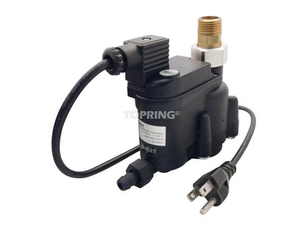 Zero air loss automatic drain 128 scfm 1/2 (m) npt electric cord topdrain