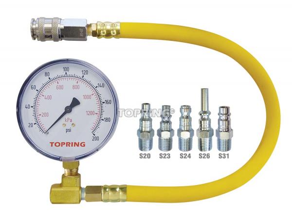 Professional pressure indicator tester kit