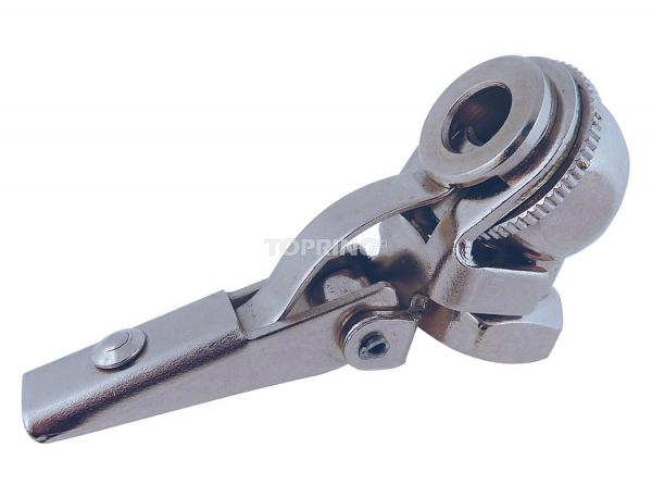 Air chuck ball foot clip-on 1/4 (f) npt closed