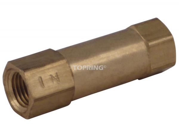 In-line check valve 1/8 (f) npt