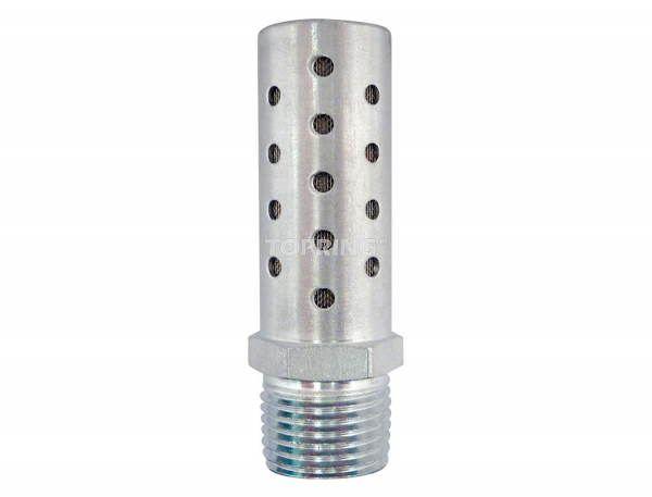 High flow pneumatic muffler 1/2 (m) npt